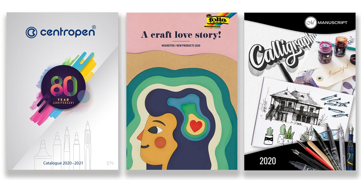 Nieuwe catalogi 2020