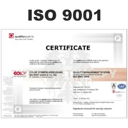 COLOP ISO 9001